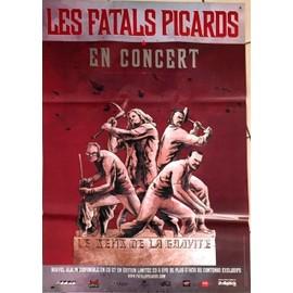 Les Fatals Picards - - AFFICHE / POSTER envoi en tube