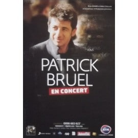 Patrick BRUEL -  - AFFICHE / POSTER envoi en tube