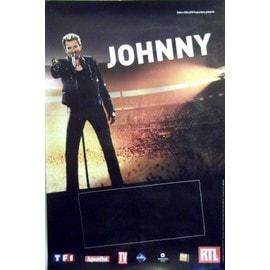 Johnny Hallyday - 2012 - En Concert - AFFICHE / POSTER envoi en tube