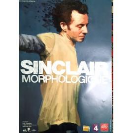 Sinclair - Morphologique - AFFICHE / POSTER envoi en tube