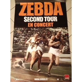 Zebda - Second Tour - AFFICHE / POSTER envoi en tube