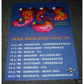 YES - open Your Eyes 98 - AFFICHE / POSTER envoi en tube