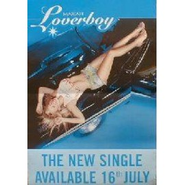 MARIAH CAREY - Loverboy - Original Promo Poster - AFFICHE / POSTER envoi en tube
