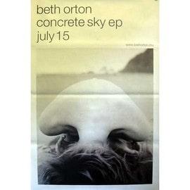 Beth ORTON - - AFFICHE / POSTER envoi en tube