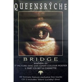 Queensrÿche - Bridge - AFFICHE / POSTER envoi en tube