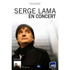 Serge LAMA - - AFFICHE / POSTER envoi en tube