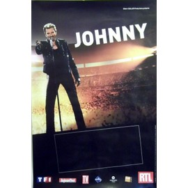 poster johnny hallyday affiches de johnny hallyday posters affiche murale. Black Bedroom Furniture Sets. Home Design Ideas