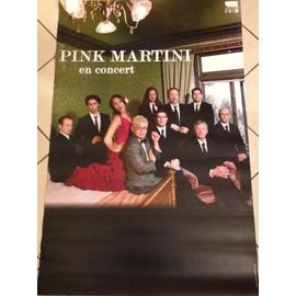 Pink Martini - - AFFICHE / POSTER envoi en tube