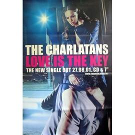 The Charlatans - Love Is the Key - AFFICHE / POSTER envoi en tube