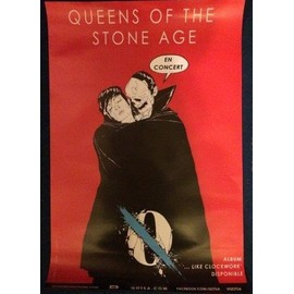 Queens Of The Stone Age - - AFFICHE / POSTER envoi en tube