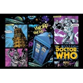 Doctor Who - Comic Layout - Affiche / Poster Envoi En Tube