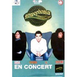 STEREOPHONICS - En Concert 2001 - French - Original Promo Poster - AFFICHE / POSTER envoi en tube