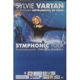 Sylvie VARTAN - - AFFICHE / POSTER envoi en tube