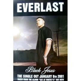 Everlast - Black Jesus - AFFICHE / POSTER envoi en tube