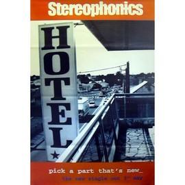 Stereophonics - Pick A Part - AFFICHE / POSTER envoi en tube