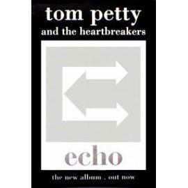 TOM PETTY - Echo (Q) (K) - AFFICHE / POSTER envoi en tube