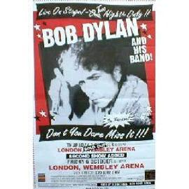 Bob DYLAN - Wembley Arena 5/6.10.2000 - Original Promo Poster - AFFICHE / POSTER envoi en tube
