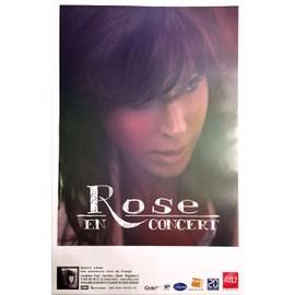 Rose - Souvenir Sous ma Frange - AFFICHE / POSTER envoi en tube