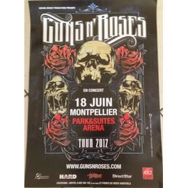 Guns N' Roses -  - AFFICHE / POSTER envoi en tube