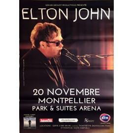 Elton JOHN  -  - AFFICHE / POSTER envoi en tube