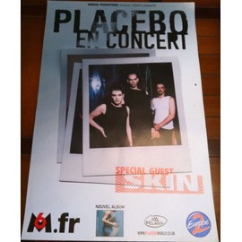 Placebo - En Concert - AFFICHE / POSTER envoi en tube