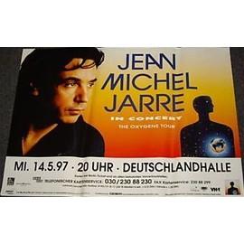 Jean-Michel JARRE - In Concert 1997 - AFFICHE / POSTER envoi en tube