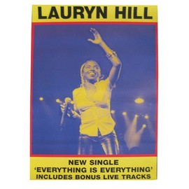 Lauryn HILL - Everything Is Everything - AFFICHE / POSTER envoi en tube