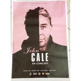 John CALE - - AFFICHE / POSTER envoi en tube