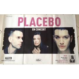 Placebo - En Concert - Meds - AFFICHE / POSTER envoi en tube