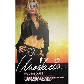Anastacia - Paid My Dues - AFFICHE / POSTER envoi en tube