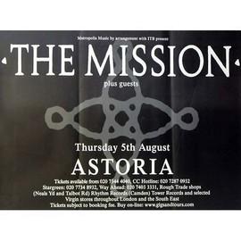 The Mission - Astoria - AFFICHE / POSTER envoi en tube