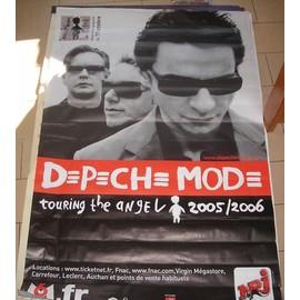 DEPECHE MODE - Touring The Angel - AFFICHE / POSTER envoi en tube