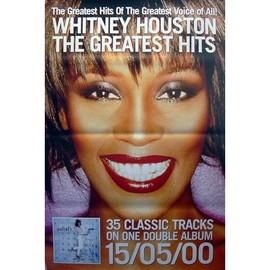 Whitney Houston - Greatest Hits - AFFICHE / POSTER envoi en tube