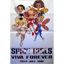 Spice Girls - Viva Forever - AFFICHE / POSTER envoi en tube