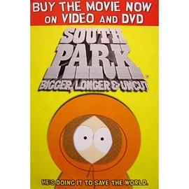 South Park - Bigger, Longer & Uncut - AFFICHE / POSTER envoi en tube