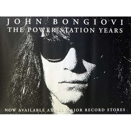 Bon Jovi - The Power Station Years - AFFICHE / POSTER envoi en tube