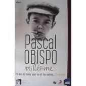 Pascal Obispo - Mill�simes - Affiche / Poster Envoi En Tube
