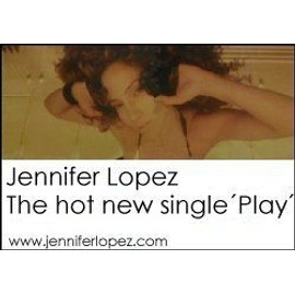Jennifer LOPEZ - Play - AFFICHE / POSTER envoi en tube