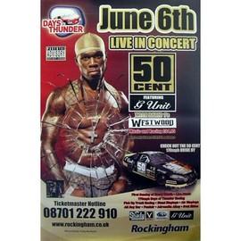 50 Cent - Live In Concert - AFFICHE / POSTER envoi en tube