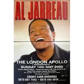 Al Jarreau - London Apollo 2000 - Affiche / Poster Envoi En Tube