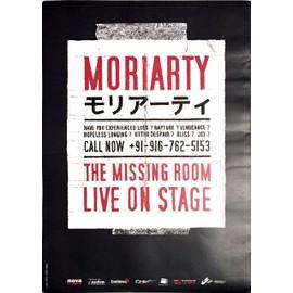 Moriarty - The Missing Room - AFFICHE / POSTER envoi en tube