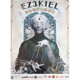 EZ3KIEL - EZEKIEL - Extended - AFFICHE / POSTER envoi en tube
