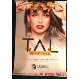 TAL - A l'infini Tour - AFFICHE / POSTER envoi en tube