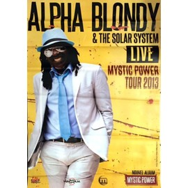 Alpha Blondy - Mystic Power - AFFICHE / POSTER envoi en tube