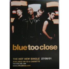 Blue - - AFFICHE / POSTER envoi en tube