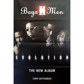 Boyz II Men - Evolution - AFFICHE / POSTER envoi en tube
