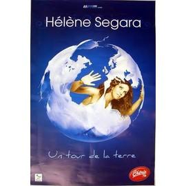 Hélène SEGARA - - AFFICHE / POSTER envoi en tube