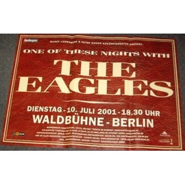 The Eagles - One Of These Nights - AFFICHE / POSTER envoi en tube