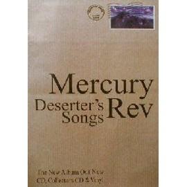 MERCURY REV - Deserter's Song - AFFICHE / POSTER envoi en tube
