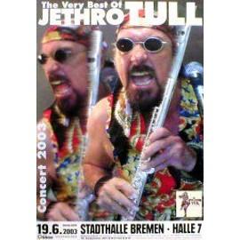 JETHRO TULL - Germany 2003 - AFFICHE / POSTER envoi en tube